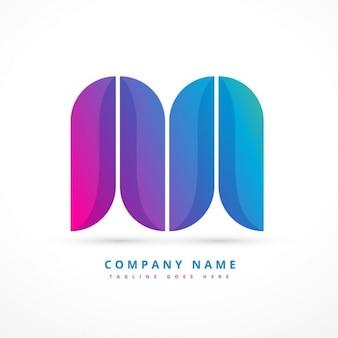Красочные абстрактные формы логотип
