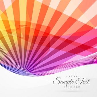 Красочные абстрактного фона солнечные лучи