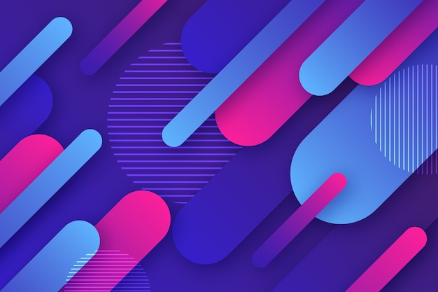 Colorful abstract wallpaper design