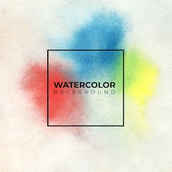 Colorful abstract watercolor background, hand paint. color splashing on the white paper