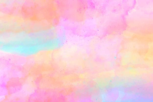 カラフルな抽象的な水彩画の背景