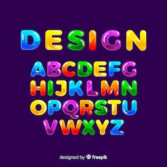 다채로운 알파벳