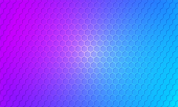 Colorful background. bright color carbon fiber honeycomb texture. hexagon metal multicolored, textured steel background.