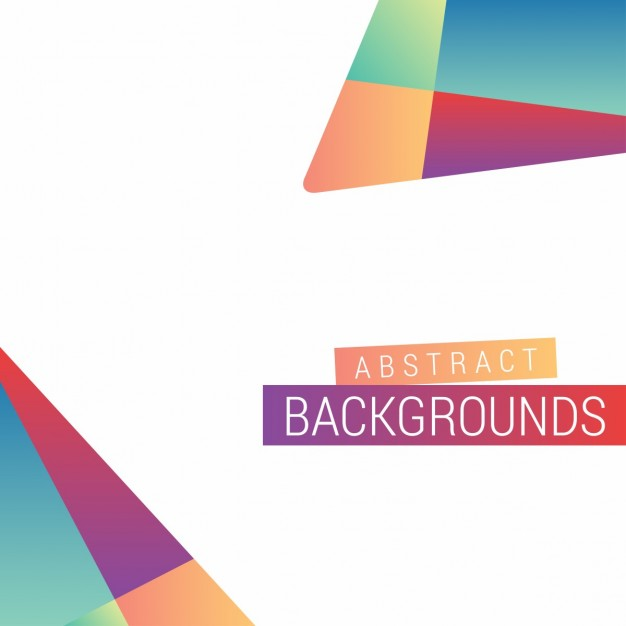 Colorful background, geometric shapes