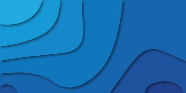 ライトブルーとダークブルーの色合いでカラフルな背景。