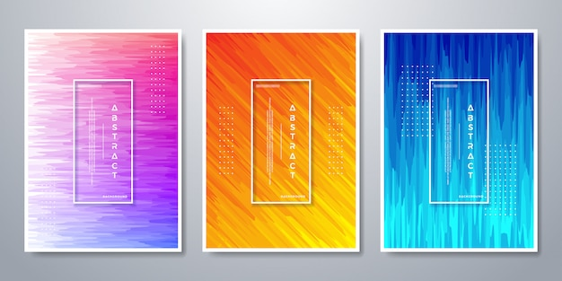 Colorful background for poster template and etc.