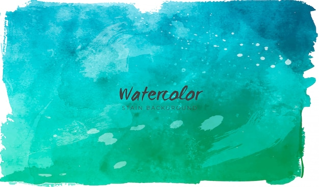 Colorful background in watercolor