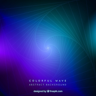 Colorful background wiht elegant waves
