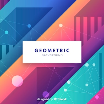 Colorful background with abstract design