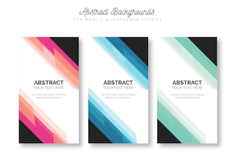 Colorful Backgrounds for Mobile & Instagram Stories