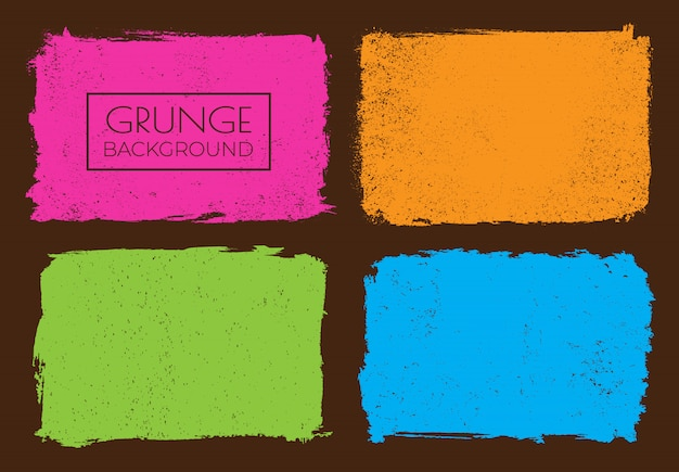 Colorful backgrounds set