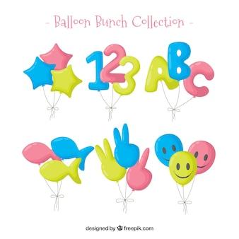 Colorful balloon set