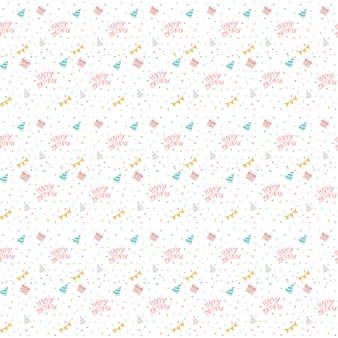 Colorful birthday polka dot vector