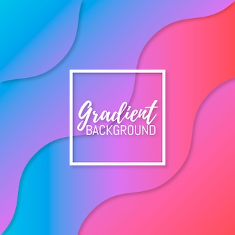 Colorful and blurred gradient background
