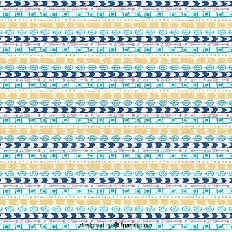 Colorful boho style pattern