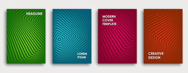 Colorful book cover design poster corporate business annual report brochure magazine flyer mockup