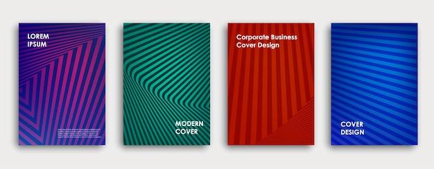 Красочный дизайн обложки книги
