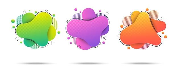 Красочные яркие веб-баннеры