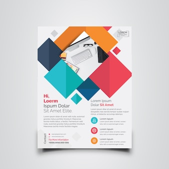 Colorful Business Flyer