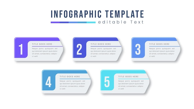 Colorful business info graphic design template vector with icons and options or steps. can be used for process diagram, presentations, work-flow layout, banner, flowchart, info graph