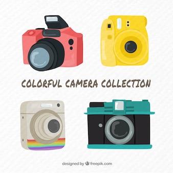 カラフルなカメラコレクション