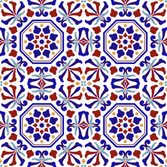 Colorful ceramic pattern