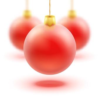Colorful christmas balls.