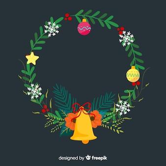 Красочный рождественский венок