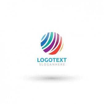 Cerchio colorato logo