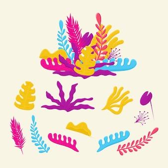 Красочная иллюстрация коралла