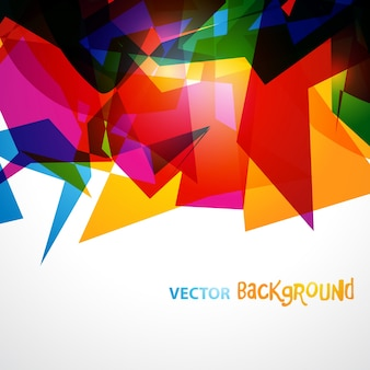 Colorful creative background