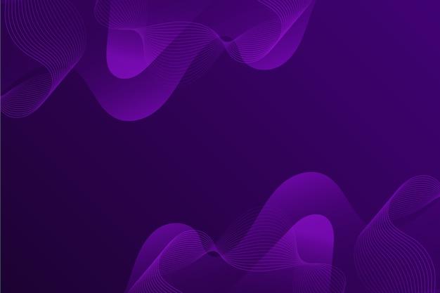 Colorful dark wavy background