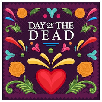 Colorful day of the dead
