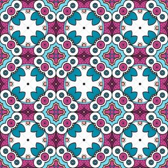 カラフルな装飾的なパターン