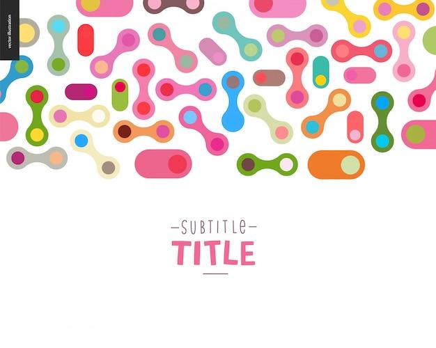Colorful design banner