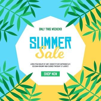 Colorful design summer sale