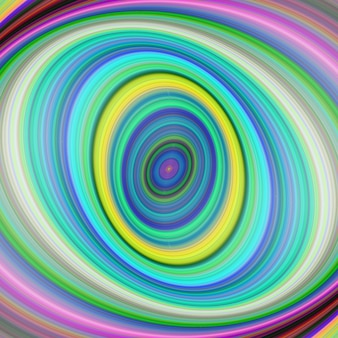 Colorful elliptical digital fractal art background