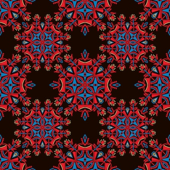 Colorful ethnic pattern background.