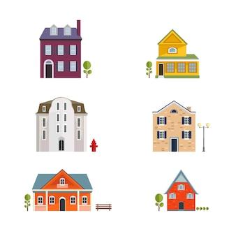 Красочные квартиры жилые дома.