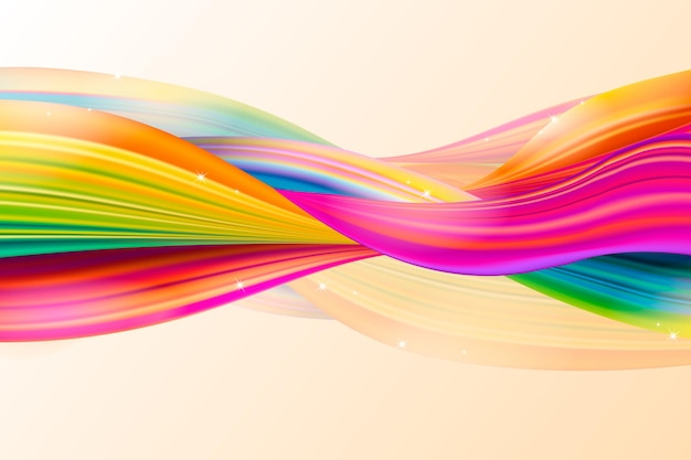 Colorful flow background
