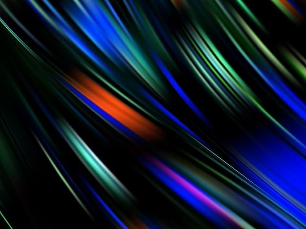 Colorful flow poster. wave. liquid shape color background. illustration