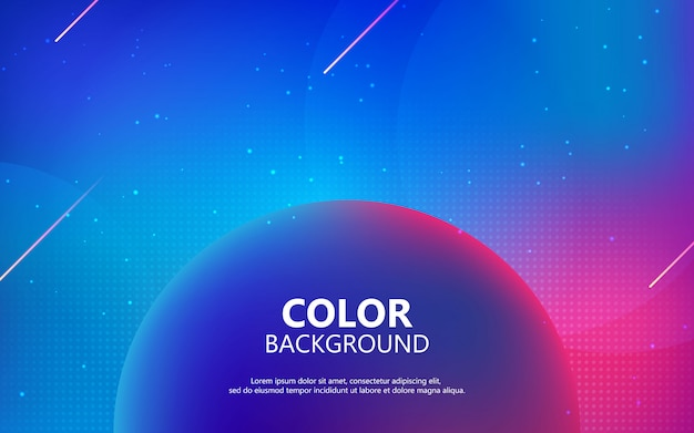 Colorful fluid background. futuristic gradient shape composition.