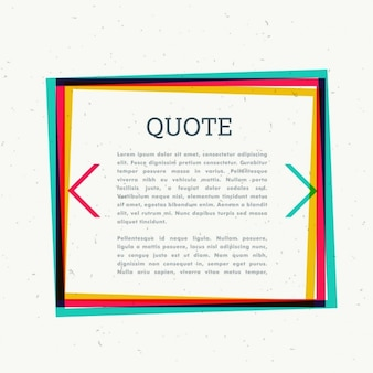 Colorful frame for your text