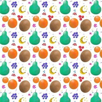 Красочный фруктовый образец