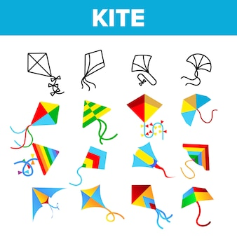 Colorful and fun kites