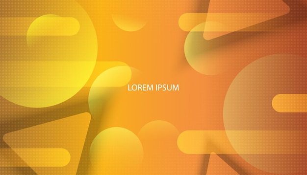 Colorful geometric background. gradient background bright colors and dynamic shape compositions .