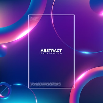 Colorful geometric background. trendy gradient shapes composition. cool background design for posters. vector illustration