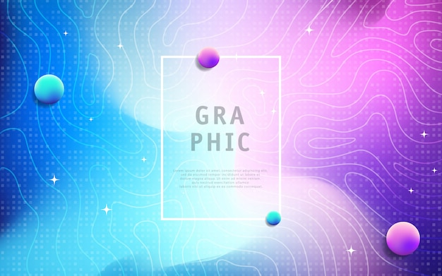 Colorful geometric background with line texture