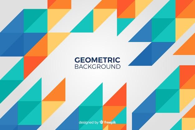 Разноцветный геометрический фон
