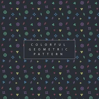 다채로운 기하학적 패턴